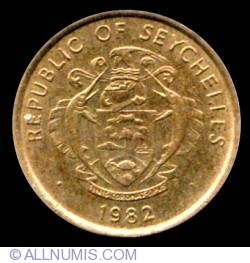 Image #1 of 1 Cent 1982