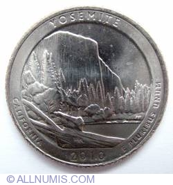 Image #2 of Quarter Dollar 2010 D - California Yosemite