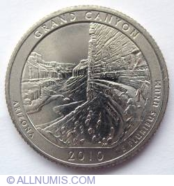 Image #2 of Quarter Dollar 2010 D - Grand Canyon