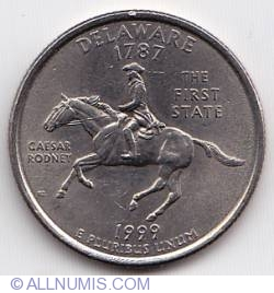 Image #2 of State Quarter 1999 P -  Delaware