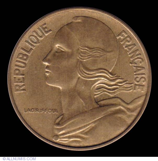 20 Centimes 1971, Fifth Republic (1971-1985) - France - Coin - 9107