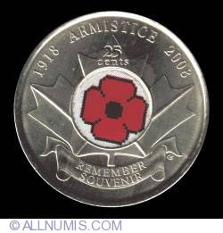 Image #2 of 25 Cents 2008 - Remembrance (color)