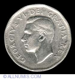 Image #1 of 5 Cents 1950