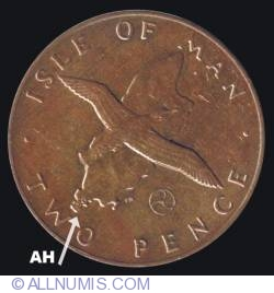 Image #2 of 2 Pence 1979 AH