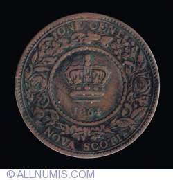 Image #2 of 1 Cent 1864