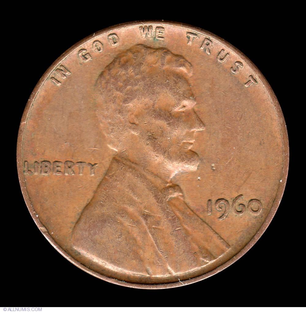 United States 1 Lincoln Memorial Cent 1960 P BU USA Penny UNC KM# 201