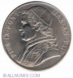 Image #1 of 5 Lire 1870