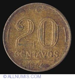 Image #2 of 20 Centavos 1944