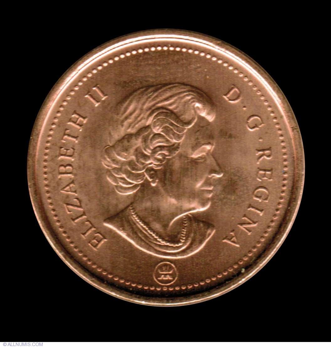 1 Cent 2006 Ml Elizabeth Ii 1953 Present Canada Coin 7208