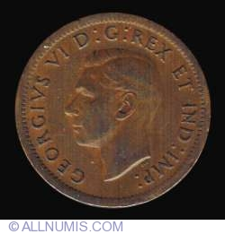 1 Canadian Cent 1946