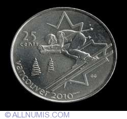 Image #2 of 25 Cents 2007 - Alpine Skiing