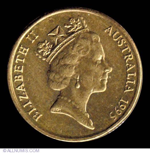 2 Dollars 1995, Elizabeth II (1952-present) - Australia
