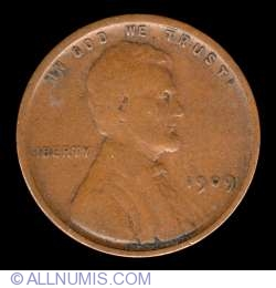 Image #1 of Lincoln Cent 1909 VDB