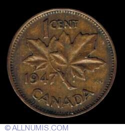 Image #2 of 1 Cent 1947