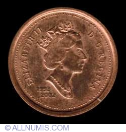 1 Cent 2002 - Golden Jubilee