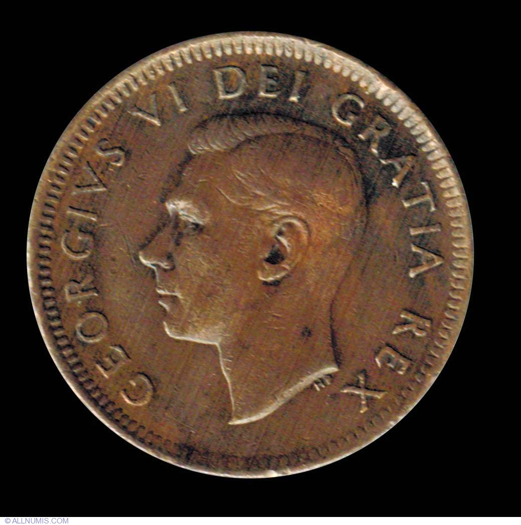 1 Cent 1952, George VI (1937-1952) - Canada - Coin - 7365