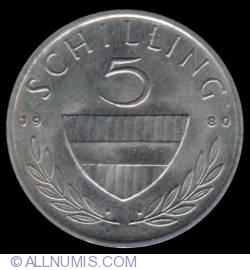 Image #2 of 5 Schilling 1980