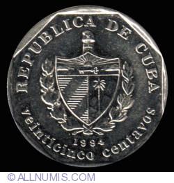Image #1 of 25 Centavos 1994
