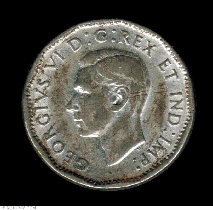 5 Cents 1945, George VI (1937-1952) - Canada - Coin - 7280