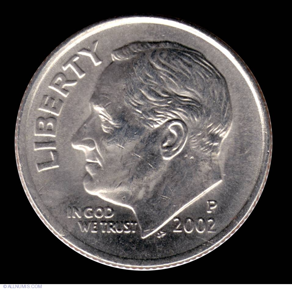 2002 P Roosevelt Dime