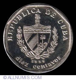 Image #1 of 10 Centavos 1996