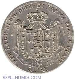 5 Lire 1832