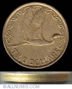 Image #2 of 2 Dollars 1990