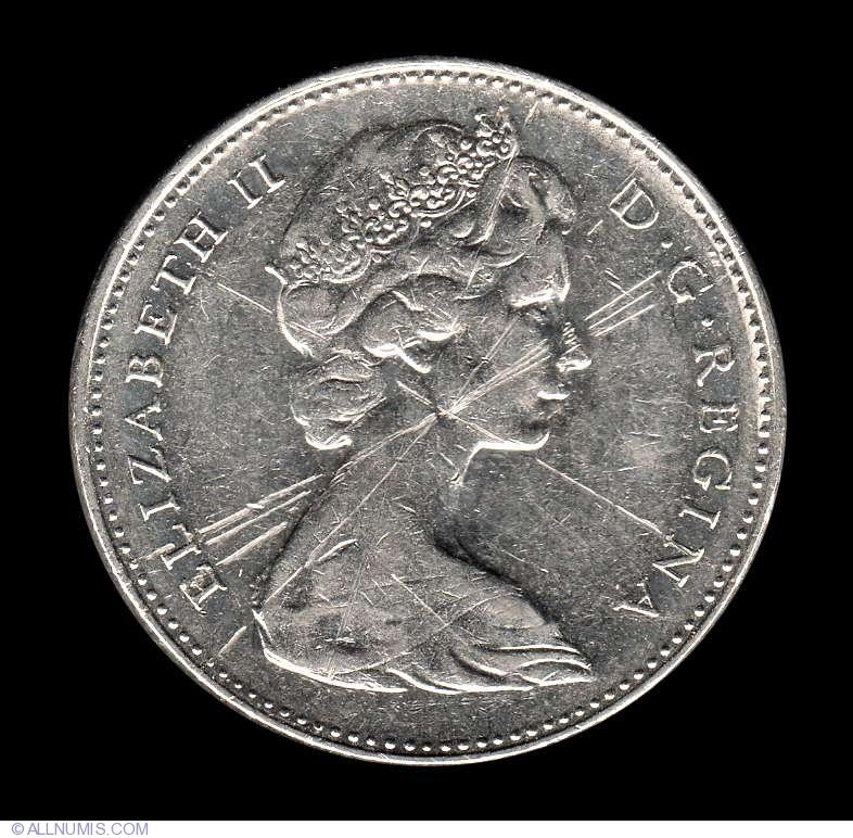 5 Cents 1973 Elizabeth Ii 1953 Present Canada Coin 8027