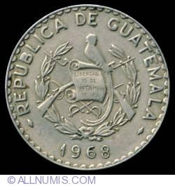 Imaginea #1 a 25 Centavos 1968