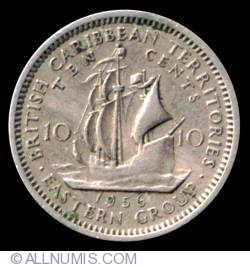Image #2 of 10 Cents 1956