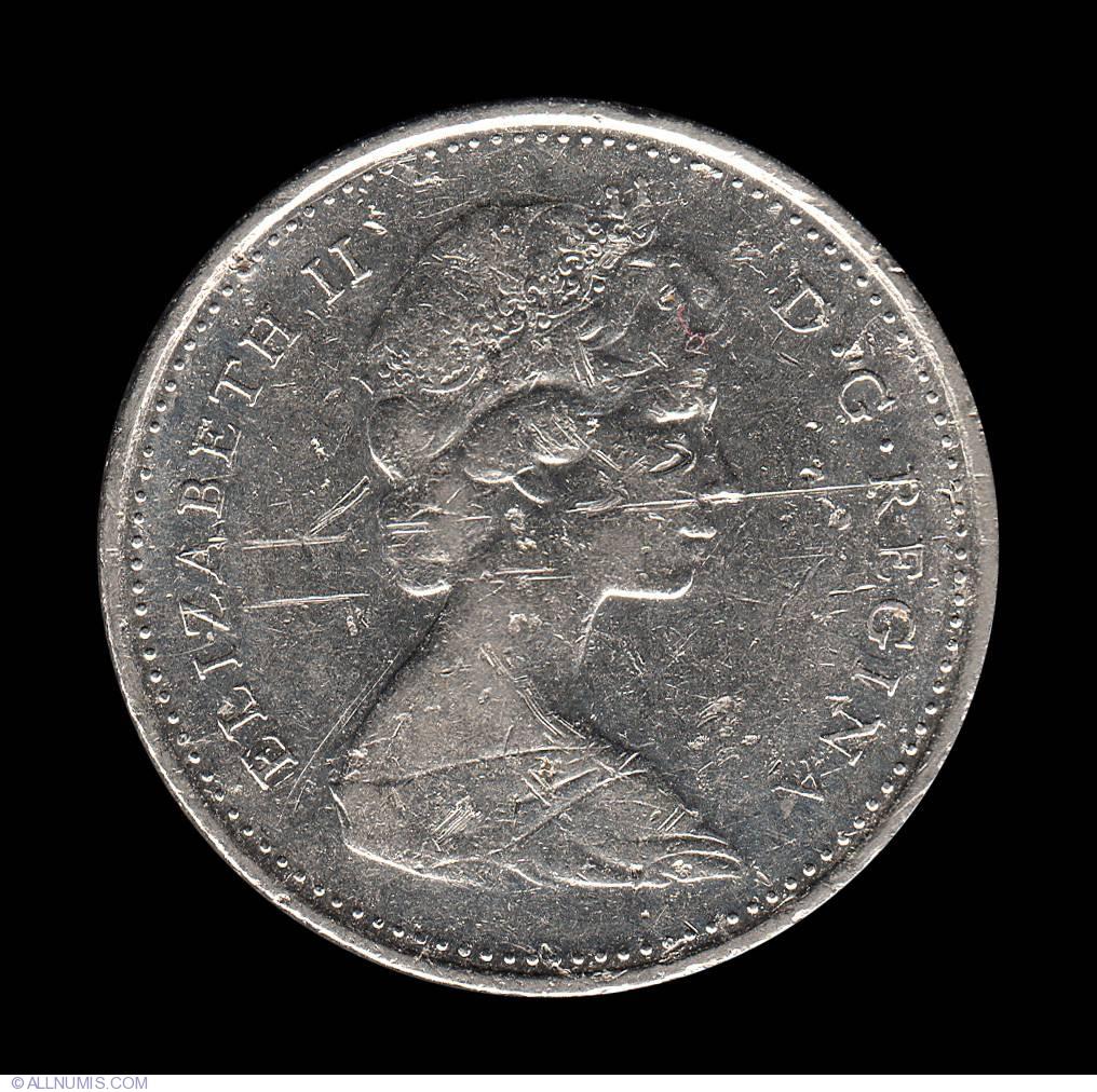 10 Cents 1977, Elizabeth II (1953-present) - Canada - Coin