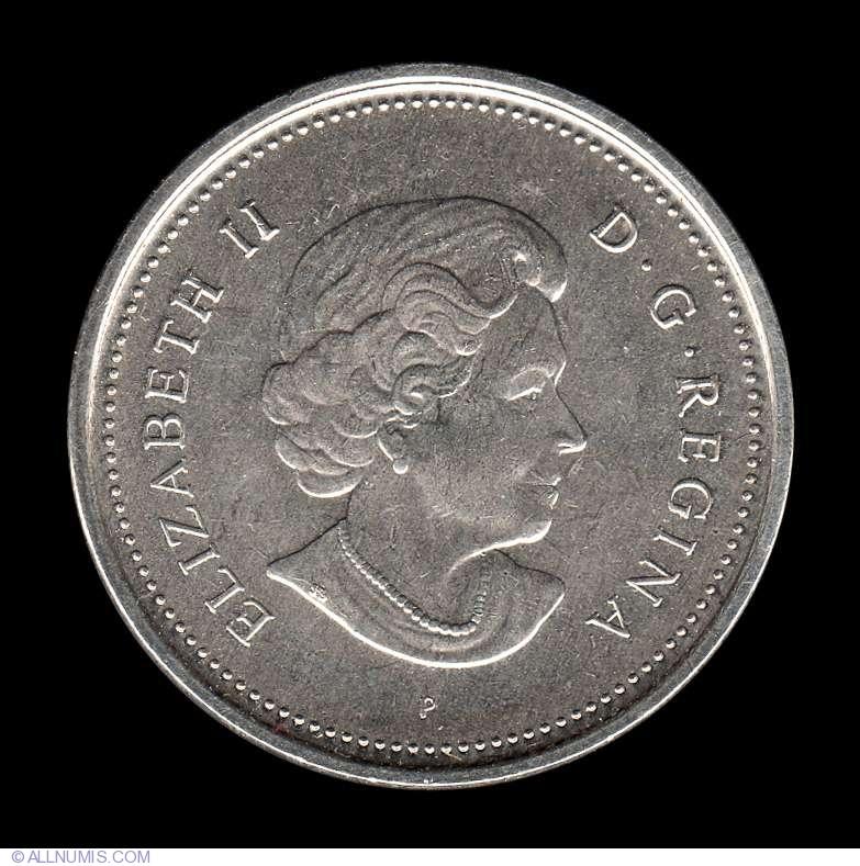 2005 P  CANADA 5 Cent Beaver Nickel Coin New Effigy