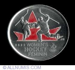 Image #2 of 25 Cents 2009 - Women's Hockey (color)