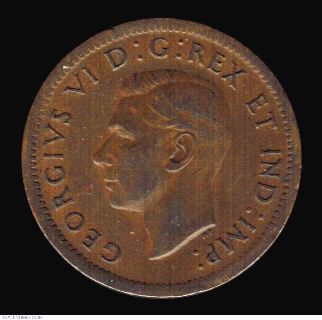 1 Cent 1938, George VI (1937-1952) - Canada - Coin - 7378
