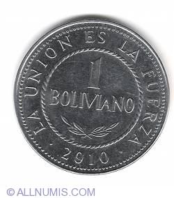 1 Boliviano 2010