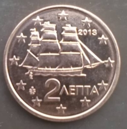 Image #2 of 2 Euro Cent 2013