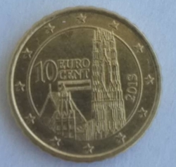 Image #2 of 10 Euro Cent 2013