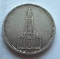 Image #2 of 5 Reichsmark 1934 A
