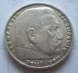 Image #2 of 5 Reichsmark 1938 D