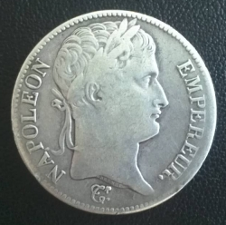 Image #2 of 5 Francs 1811 A
