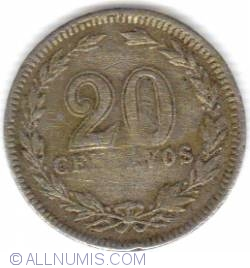 Image #1 of 20 Centavos 1922