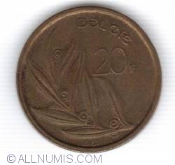 Image #1 of 20 Francs 1981 (BELGIE)