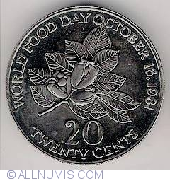 20 Cents 1981 - World Food Day