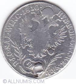 Image #2 of 20 Kreuzer 1810 A