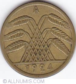 Image #2 of 50 Rentenpfennig 1924 A
