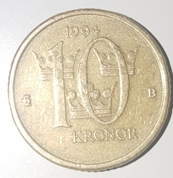 10 Kronor 1994