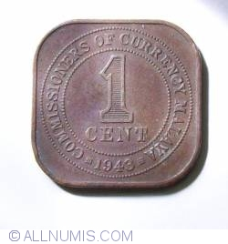 Image #2 of 1 Cent 1943