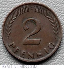 Image #1 of 2 Pfennig 1960 D