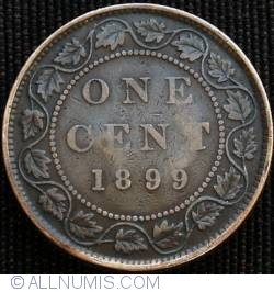 Image #2 of 1 Cent 1899