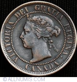 Image #1 of 1 Cent 1900 H